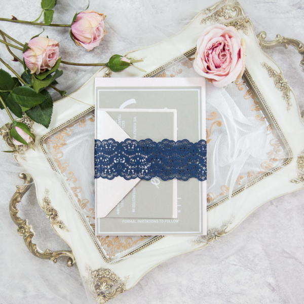 Chantilly Flower Lace Belly Band