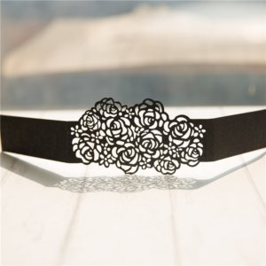 rose design Belly Band